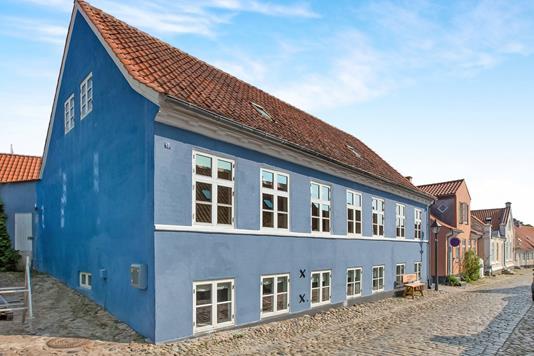 Villa på Overgade i Ebeltoft - Ejendommen