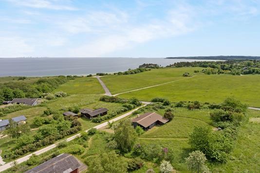Fritidsbolig på Fuglsø Hede i Knebel - Område