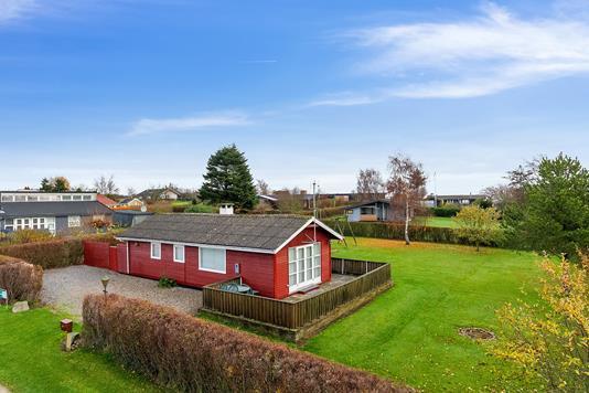 Fritidsbolig på Brigvej i Ebeltoft - Set fra haven