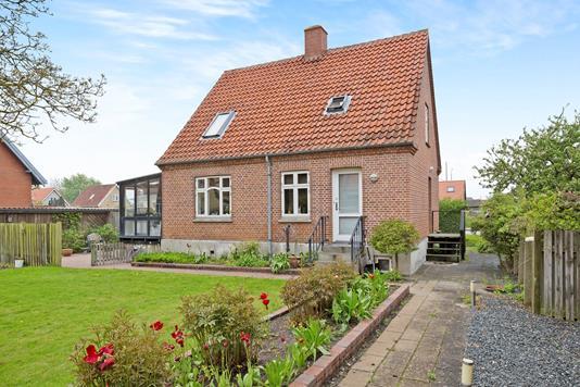 Villa på Søndergade i Ebeltoft - Ejendommen