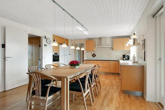 Villa på Gråstenvænget i Skælskør - Spisestue