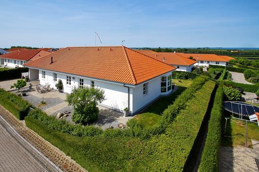 Villa på Højåsen i Skælskør - Set fra vejen