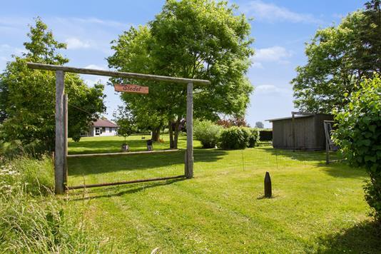 Fritidsbolig på Klaksvej i Sandved - Have