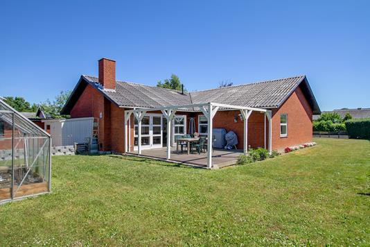 Villa på Hovstien i Boeslunde - Set fra haven
