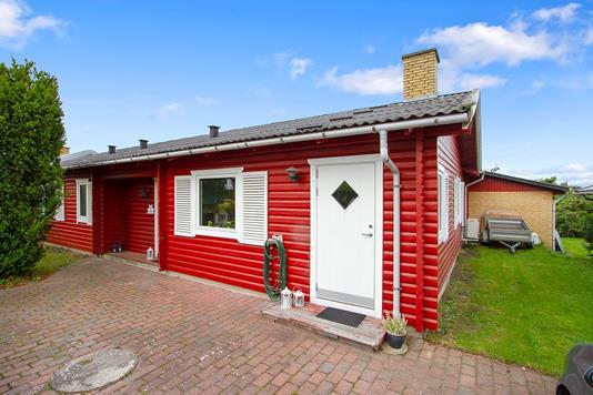 Villa på Kærsangervej i Skælskør - Terrasse