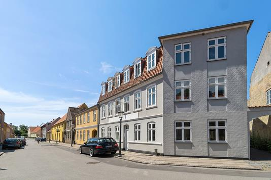Andelsbolig på Strandgade i Skælskør - Facade