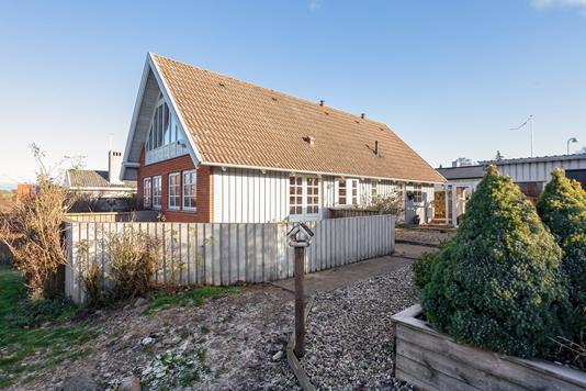 Villa på Vænget i Skælskør - Set fra haven