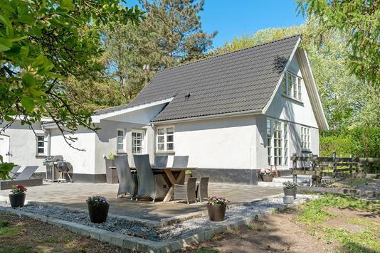 Villa på Sønder Bjergevej i Dalmose - Terrasse