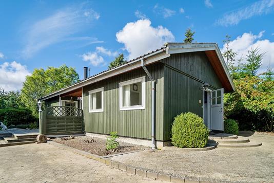 Villa på Østengen i Rude - Set fra vejen