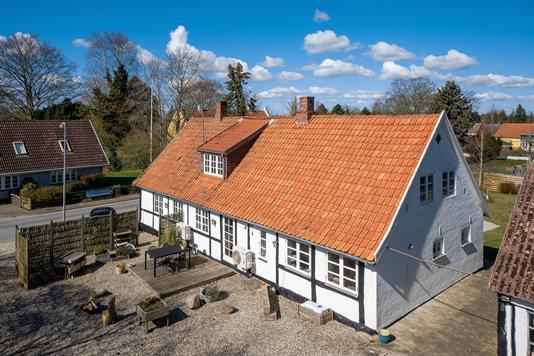 Villa på Østervej i Rude - Ejendommen
