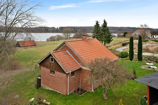 Villa på Kildehusvej i Fuglebjerg - Set fra haven
