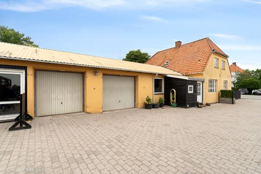 Villa på Boeslunde Byvej i Boeslunde - Facade