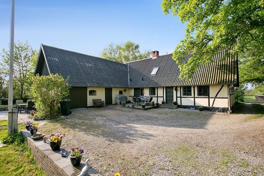 Villa på Lurhøjvej i Rønnede - Set fra haven