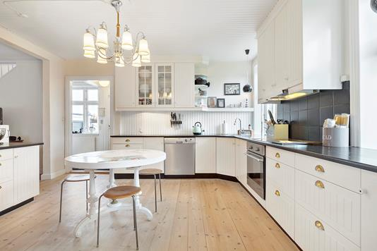 Villa på Moltkesvej i Haslev - Køkken
