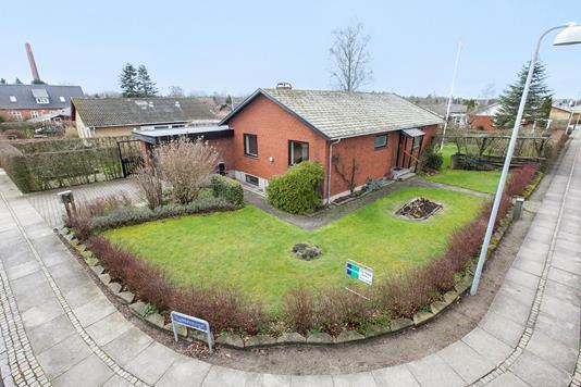 Villa på Humlevænget i Haslev - Ejendommen