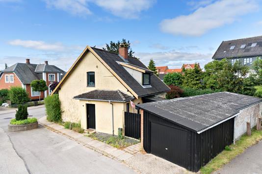 Villa på Schwartzgade i Haslev - Ejendommen