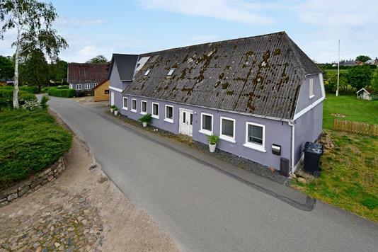 Villa på Engvej i Augustenborg - Mastefoto