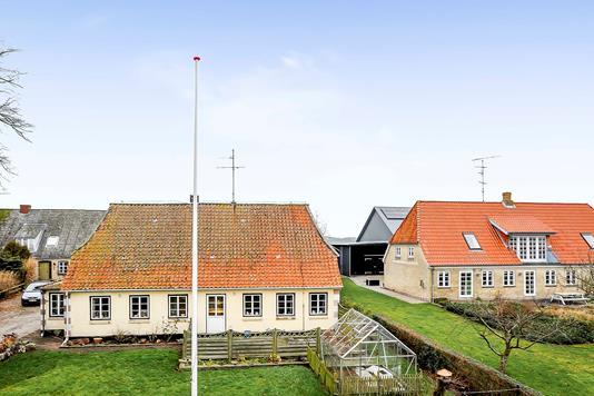 Villa på Lysabildgade i Sydals - Mastefoto