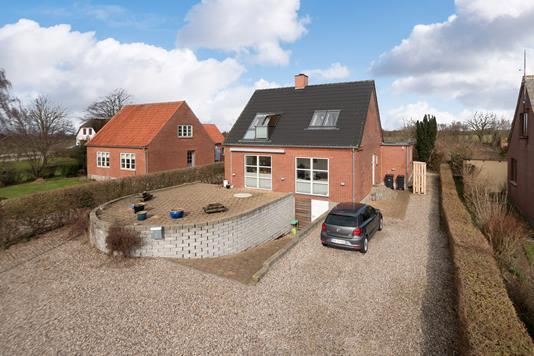 Villa på Vibøgevej i Sydals - Mastefoto