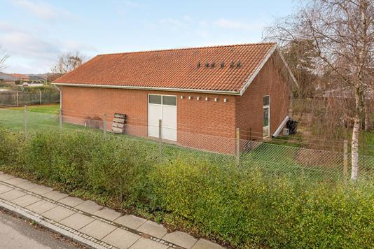 Villa på Kløvermarken i Augustenborg - Ejendommen