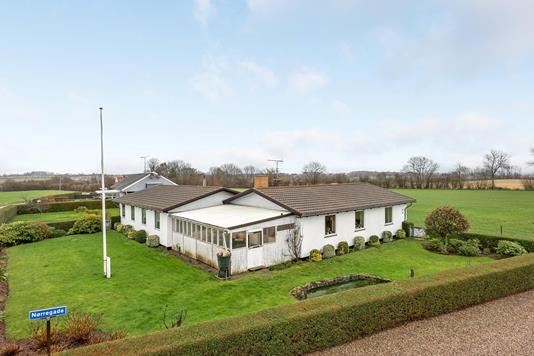 Villa på Nørregade i Sydals - Ejendommen