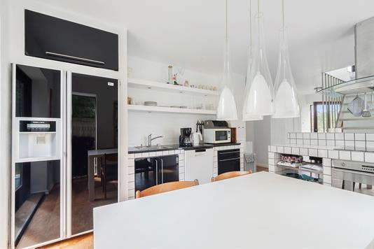 Villa på Østerbyvej i Sydals - Køkken
