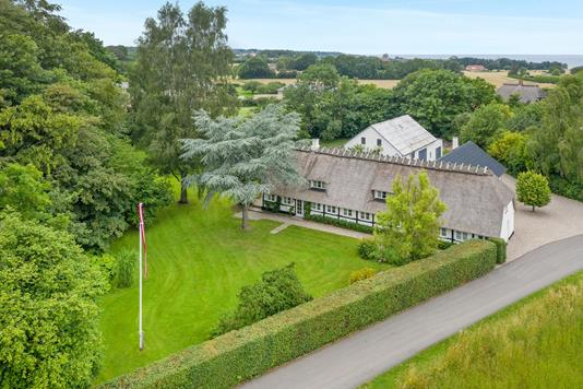 Villa på Græskobbel i Augustenborg - Luftfoto