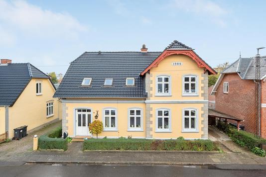 Villa på Sundgade i Egernsund - Ejendommen