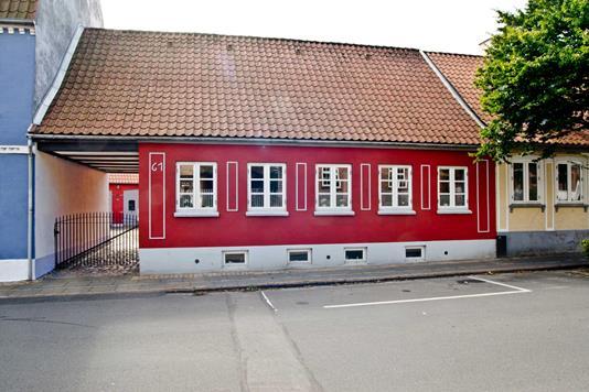 Rækkehus på Slagtergade i Haderslev - Ejendommen