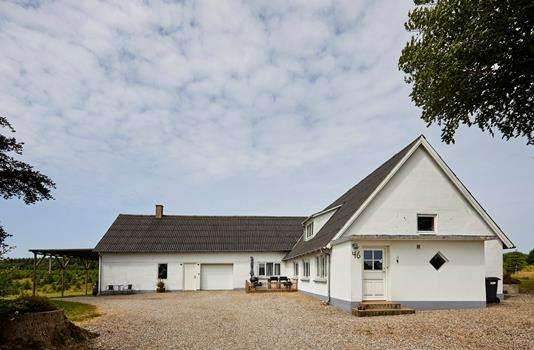Villa på Hjerndrup Stadsvej i Christiansfeld - Ejendommen