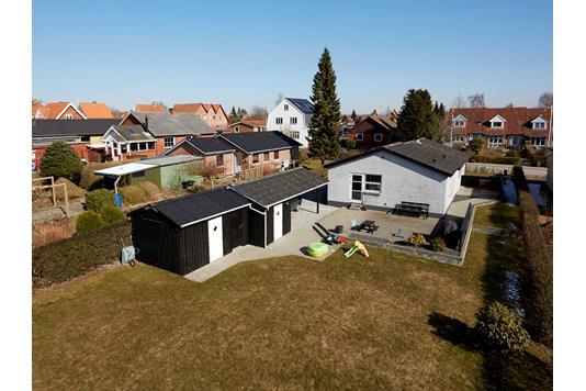 Villa på Kærsangervej i Haderslev - Mastefoto
