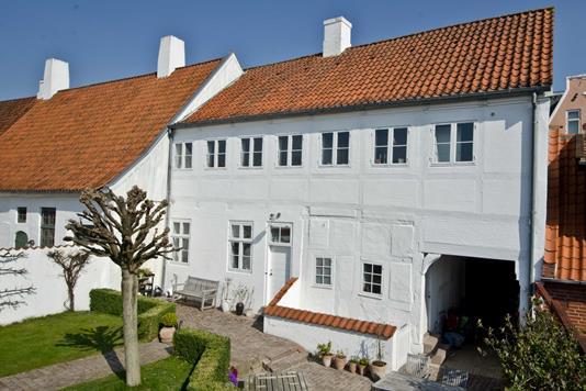 Rækkehus på Slotsgade i Haderslev - Ejendommen