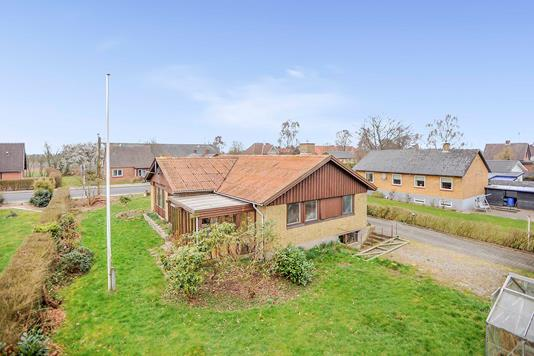 Villa på Knokbjerg i Haderslev - Mastefoto