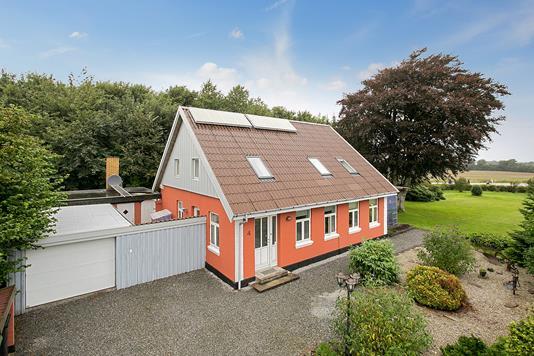 Villa på Bramdrup Lillefort i Haderslev - Ejendommen