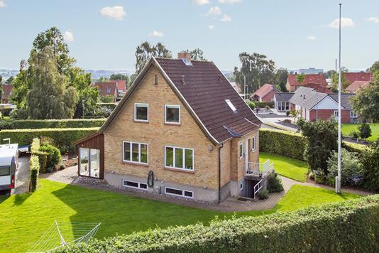 Villa på Dannevang i Haderslev - Facade