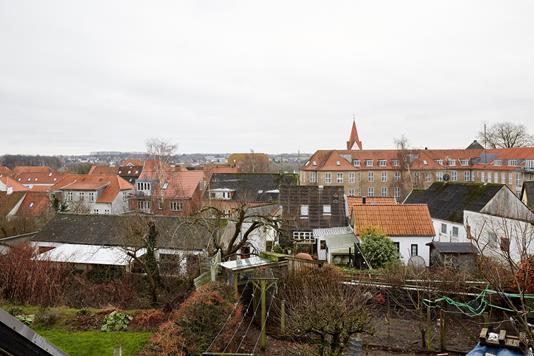 Rækkehus på Slagtergade i Haderslev - Udsigt