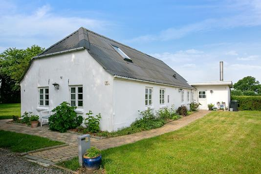Villa på Øvej i Haderslev - Set fra haven