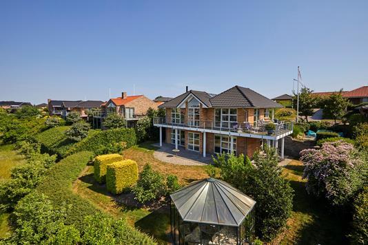 Villa på Bragesvej i Haderslev - Mastefoto