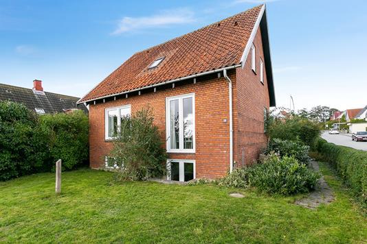 Villa på P.C. Kochs Vej i Haderslev - Set fra haven