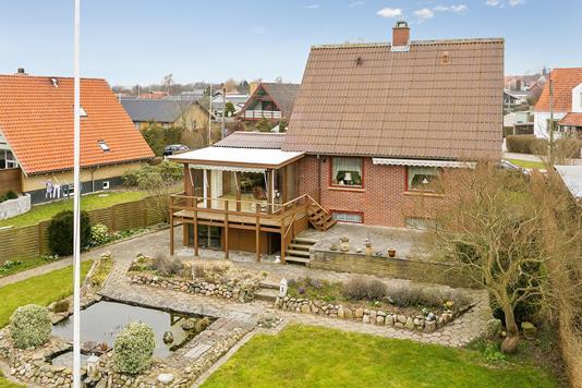 Villa på Gildesager i Christiansfeld - Ejendommen