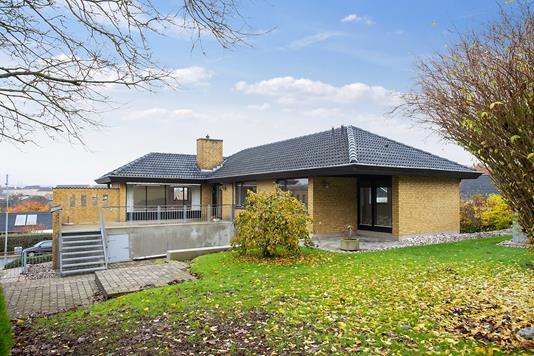 Villa på Kløvervænget i Haderslev - Set fra haven