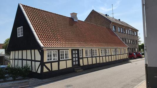 Villa på Naffet i Haderslev - Ejendommen