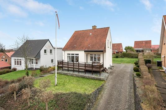 Villa på Råkærvej i Haderslev - Ejendommen