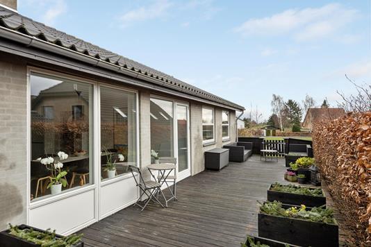 Villa på Lænkebjerg i Haderslev - Terrasse