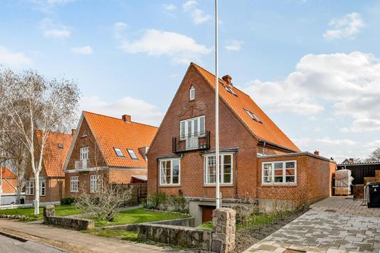 Villa på Olaf Ryes Vej i Haderslev - Ejendommen