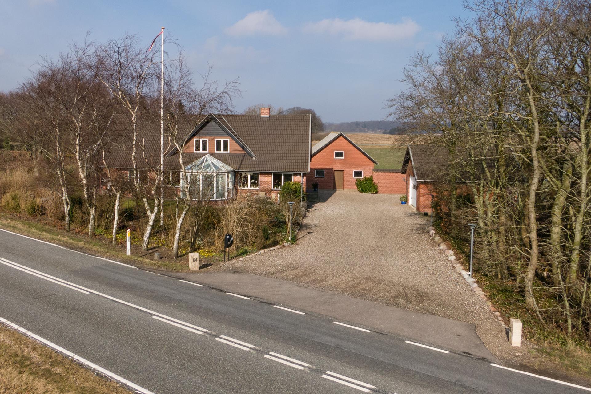 Landejendom på Hjerndrup Landevej i Haderslev - Andet