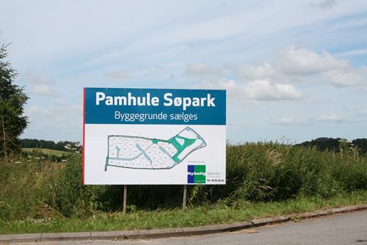 Helårsgrund på Pamhule Søpark, parcel 14 i Haderslev - Andet