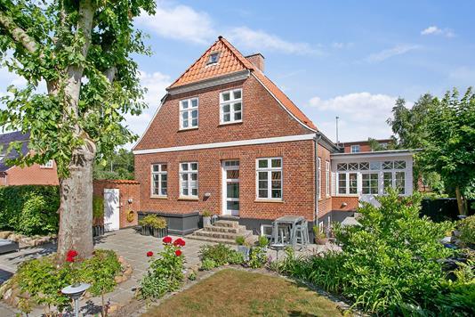 Villa på Palludansvej i Varde - Set fra haven