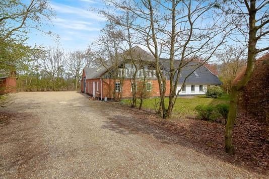 Villa på Tingvejen i Årre - Ejendommen