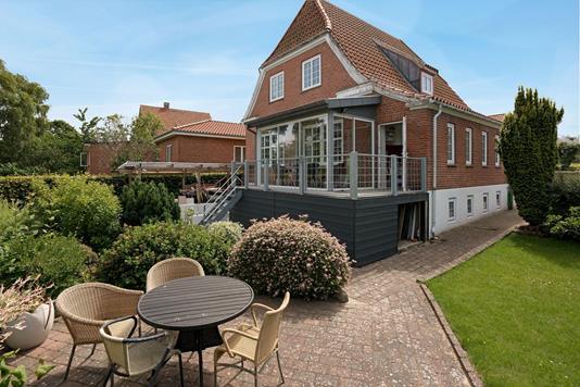 Villa på Palludansvej i Varde - Terrasse